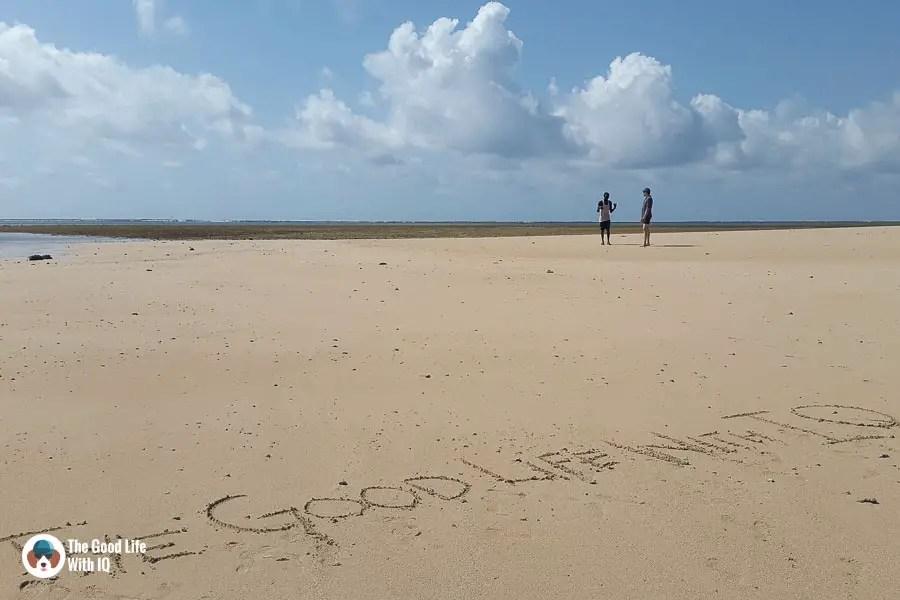 Sandbar - malindi marine national park