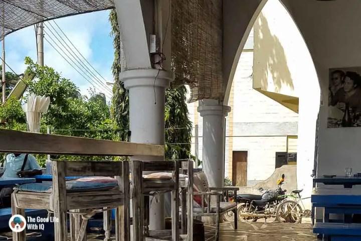 Osteria seating in Malindi