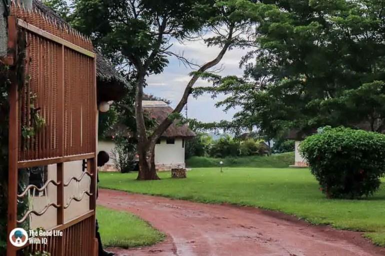 The Haven entrance in Jinja, Uganda