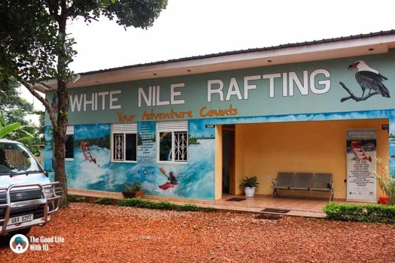 Rafting agency office, Jinja, Uganda