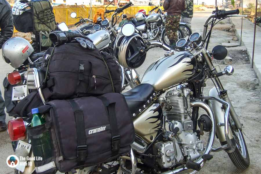 Bikes with luggage - Motorcycle touring tips