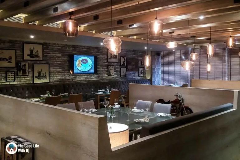 Cafe seating - Tatva restaurant review