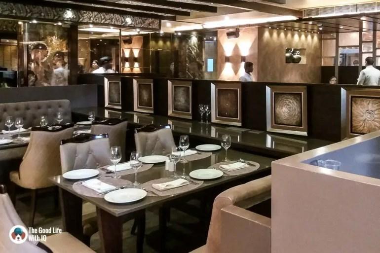 Formal dining area - Tatva restaurant review