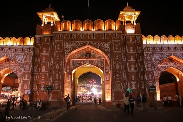 Old city gate, Jaipur