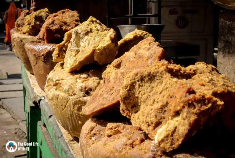 Blocks of raw sugar - Udaipur