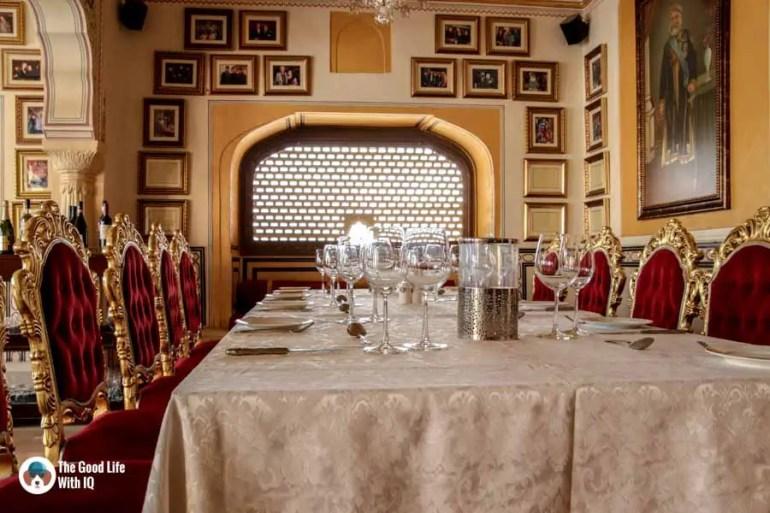 Restaurant, Amber Palace, Jaipur