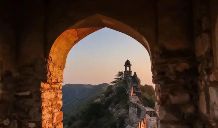 Watchtowers, Amer, Jaipur