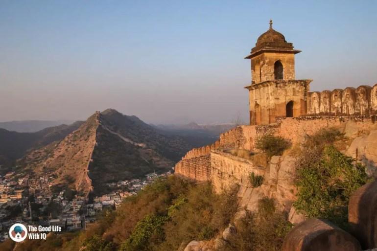 Fort walls, Amer, Jaipur