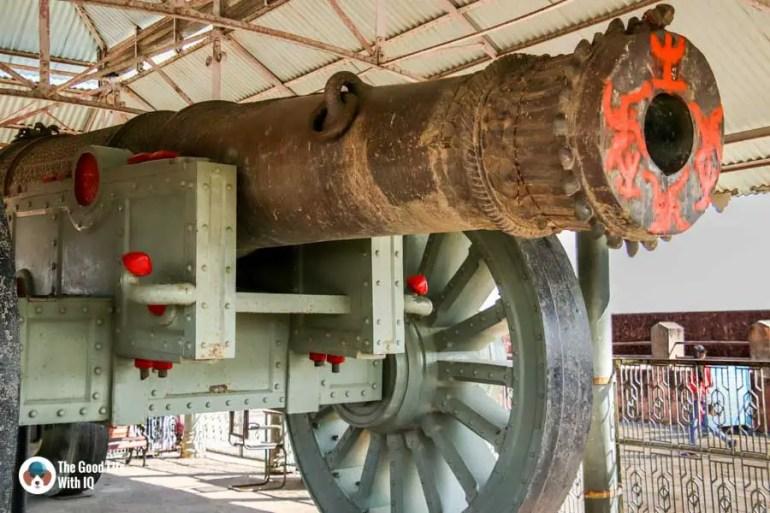 Wheeled cannon, Jaipur