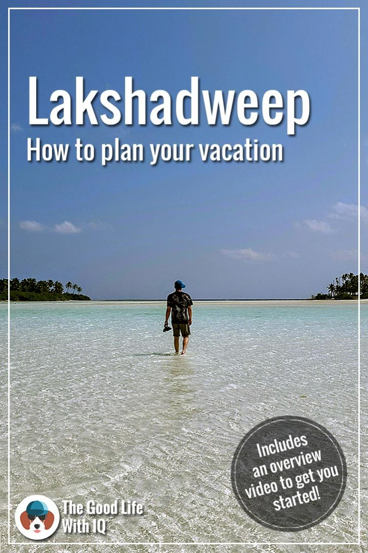 Pinterest thumbnail - How to plan your Lakshadweep trip