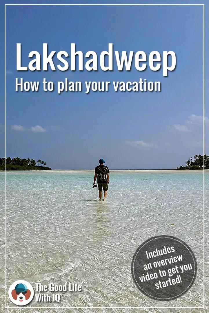 Pinterest thumbnail - How to plan your Lakshadweep trip