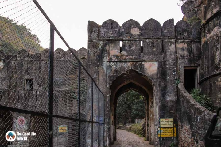 Fort archway - Ranthambhore safari