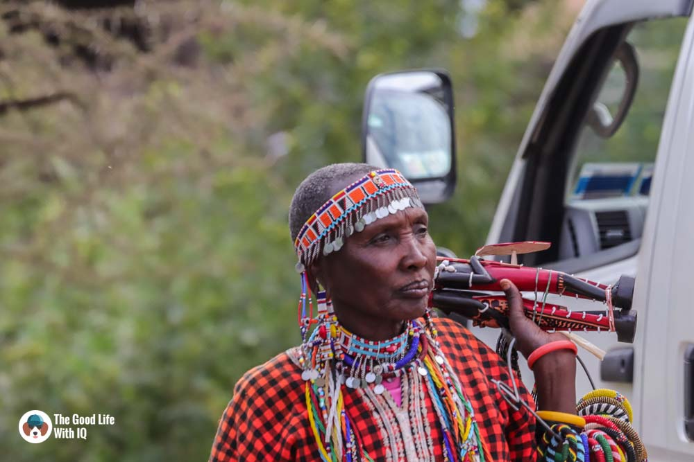 Kenya safari - Amboseli - Masai woman