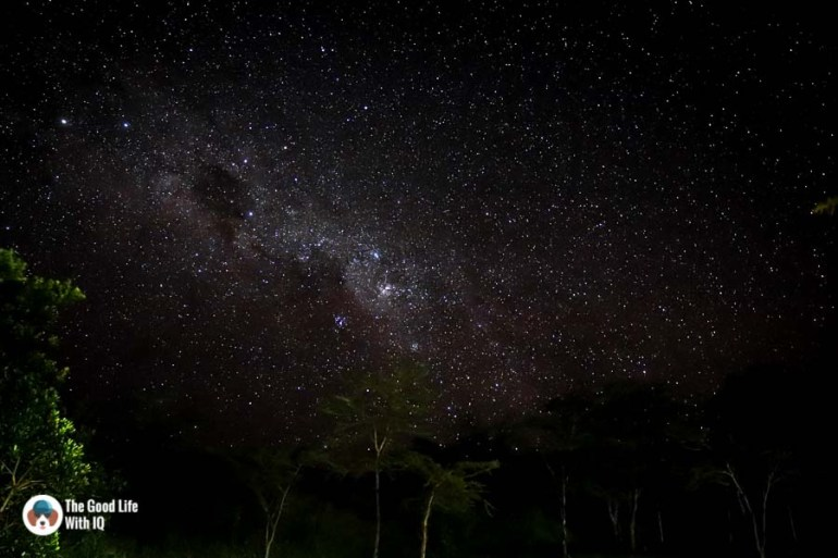 Kenya safari - Masai Mara - Night sky