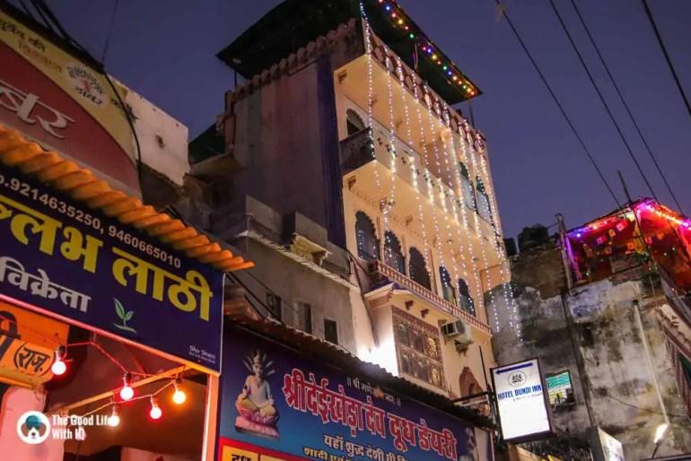 Bundi Inn - our homestay