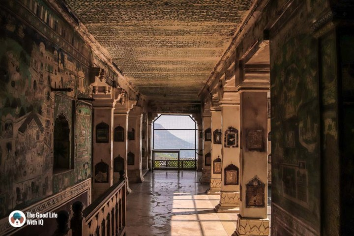 Corridor, Chitrashala, Garh Palace, Bundi - Offbeat places in Rajasthan