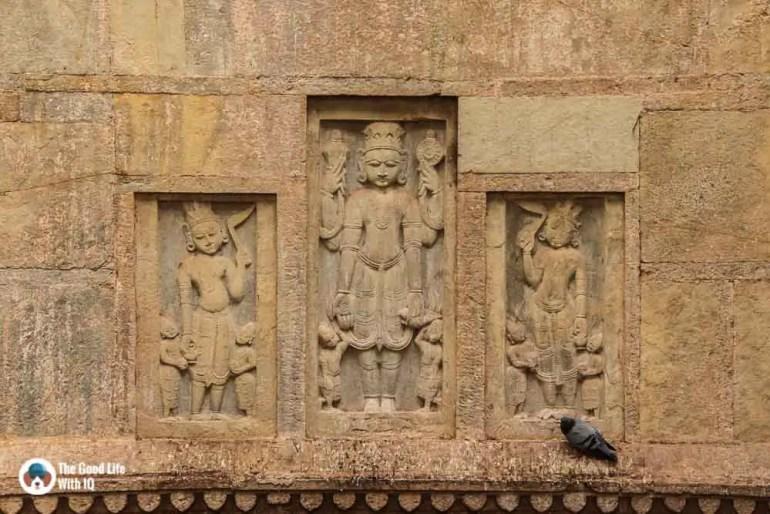 Vishnu avatars, Raniji ki Baodi, Bundi