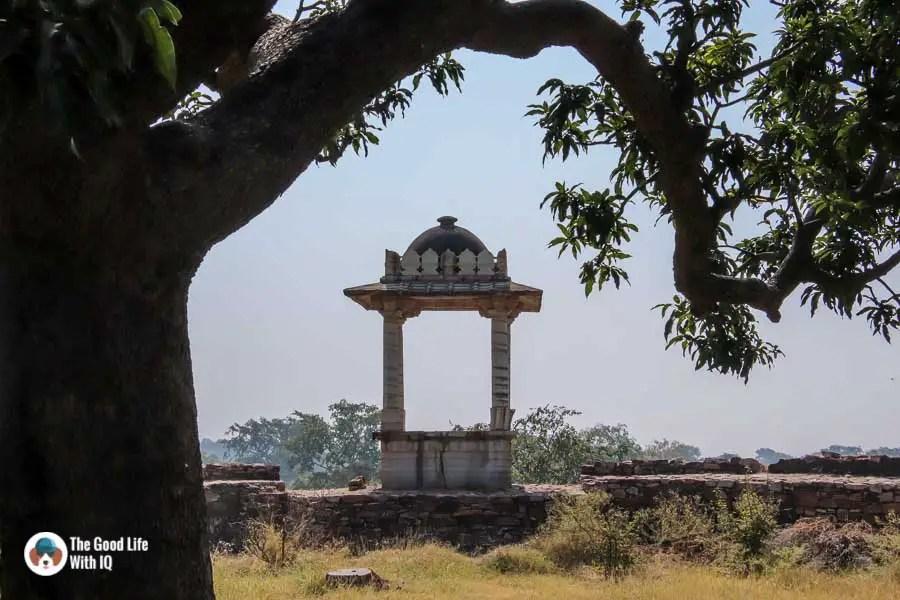 Chittorgarh Fort - Padmini Palace garden