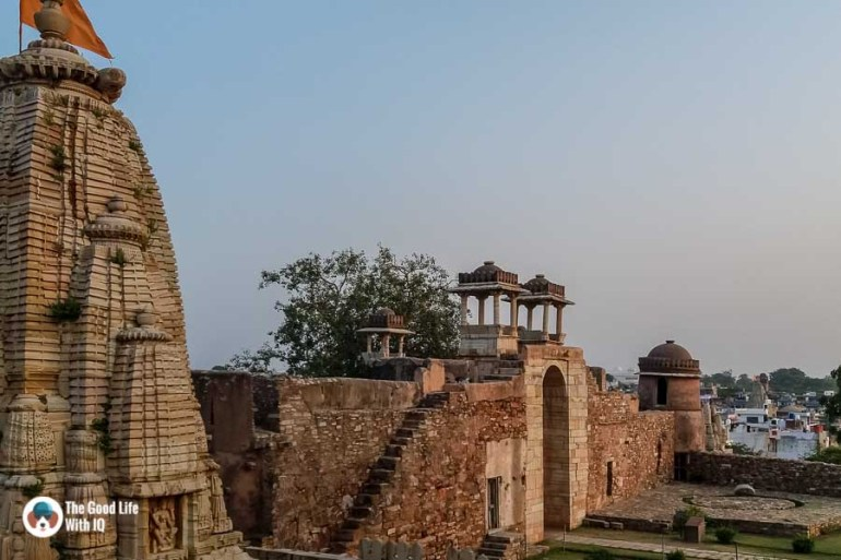Chittorgarh Fort - Ratan Singh Palace gate