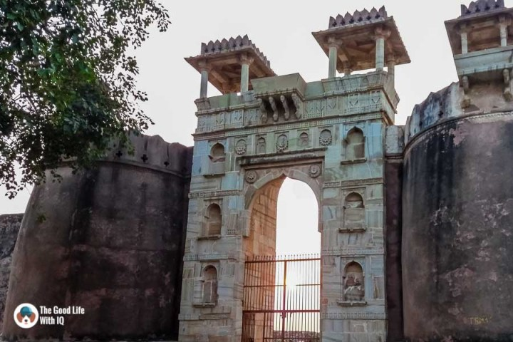 Chittorgarh Fort - Ratan Singh Palace entrance