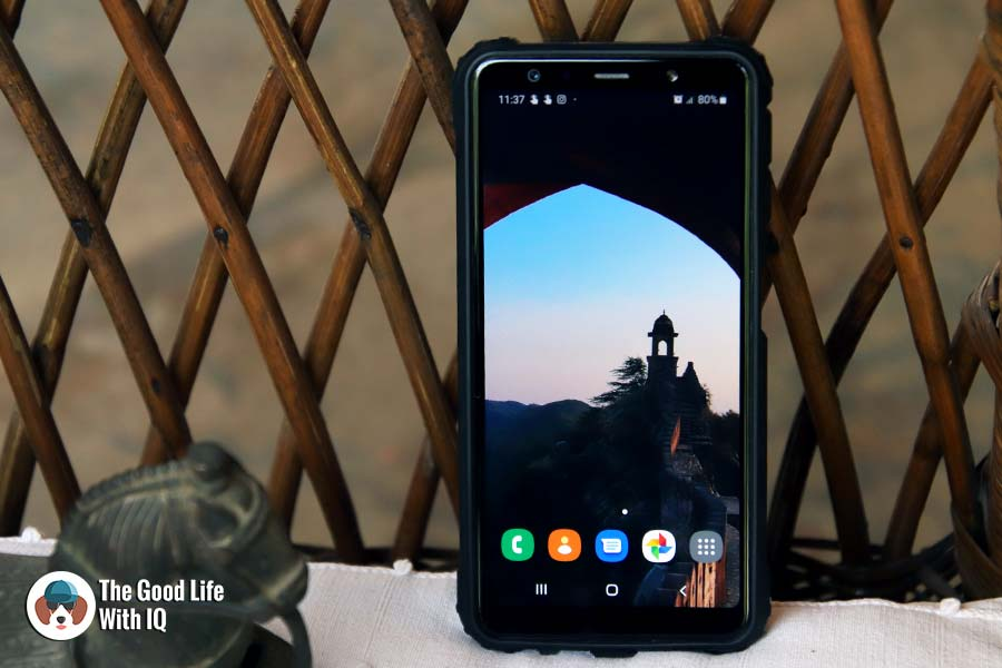 Review: Samsung Galaxy A7 (2018) phone camera