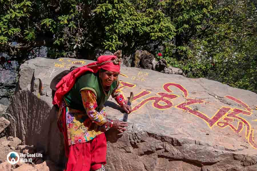 Himachali woman, Naddi
