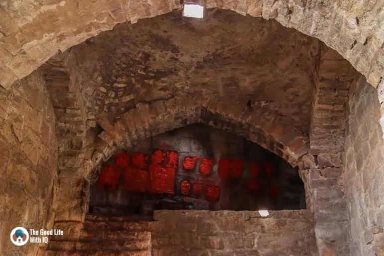 Altar, Ramdas Prison, Bala Hisar, Golconda Fort