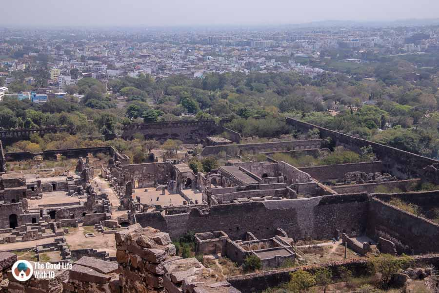 Palace complex, Golconda Fort