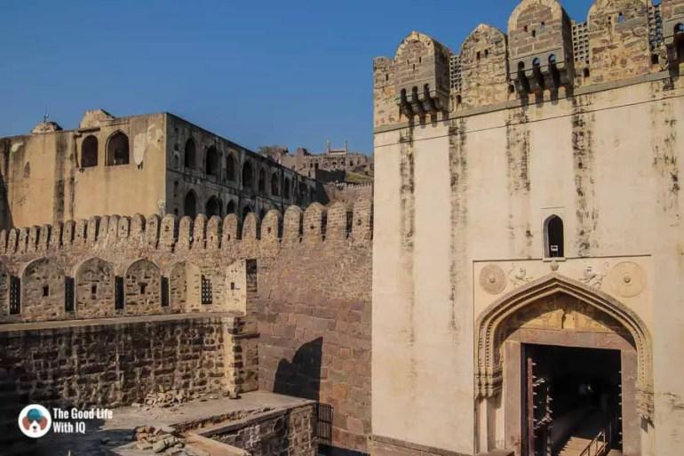 Bala Hisar gate, Golconda Fort