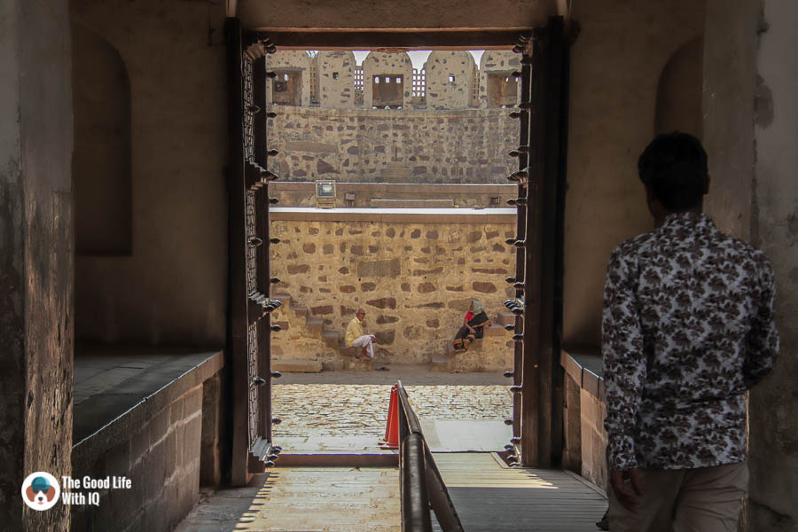 Bala Hisar gate, Golconda Fort