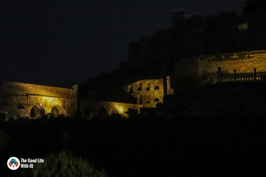 Sound nd light show, Golconda Fort