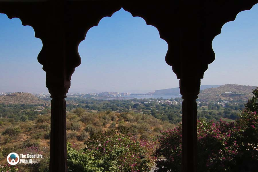 View from Fate Garh palace hotel