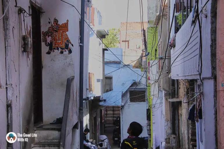 Narrow street, Udaipur