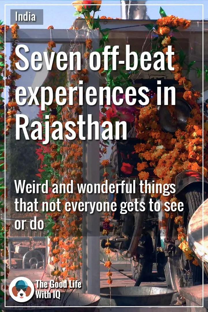 Pinterest thumbnail - Off-beat Rajasthan experiences