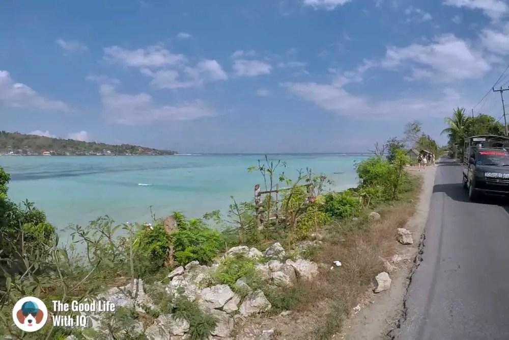 Seaweed road, Lembongan, Bali