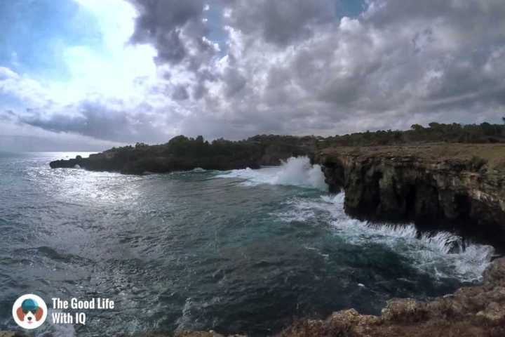 Cliffs, Nusa Ceningan, best places to stay in bali