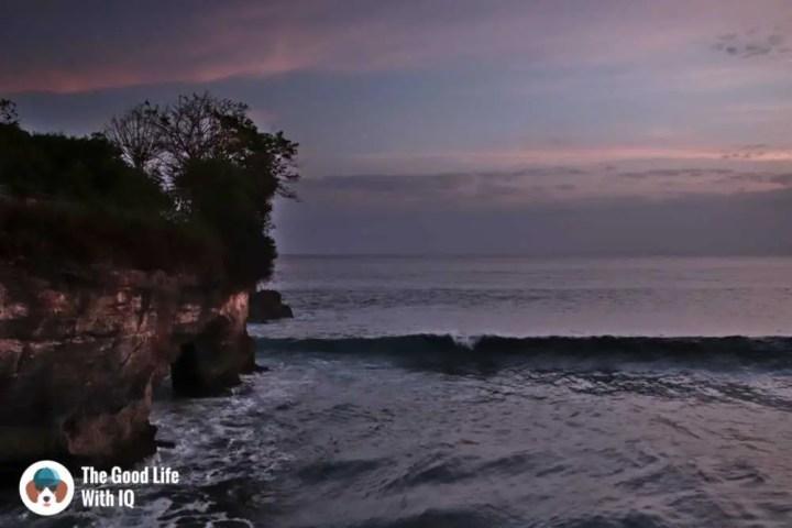 Sunset at Mahana Point, Ceningan, Bali