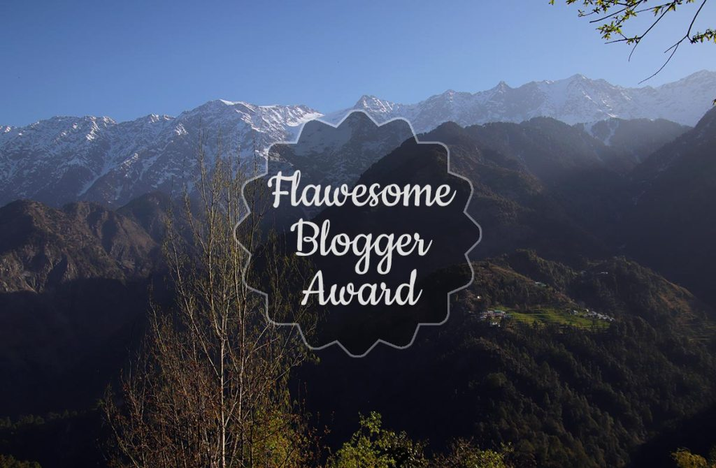 Flawesome blog award banner