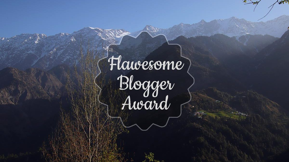 The Flawesome Blogger Award: Turning flaws into strengths