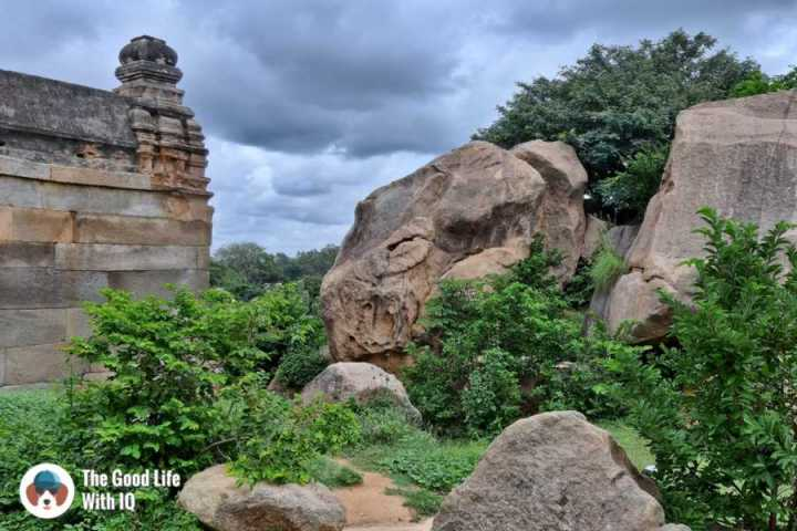 Behind the temple - Day trip to Lepakshi