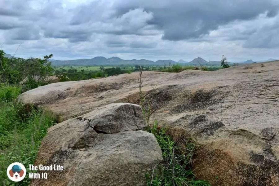 Views from Lepakshi