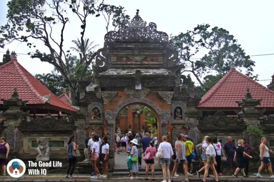 Ubud palace - Three days in Ubud, Bali