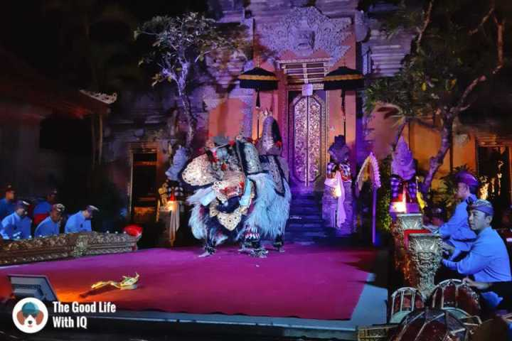 Balinese dance - Three days in Ubud, Bali