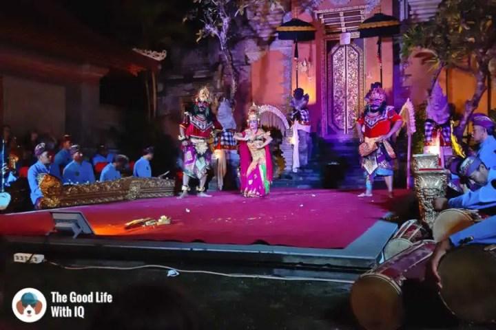 Balinese dance, Ubud, Bali