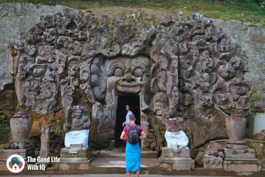 Goa Gajah, 3 days in Ubud, Bali