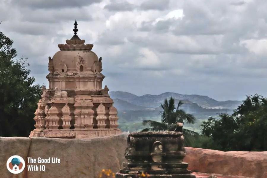 Temple spire - Lepakshi