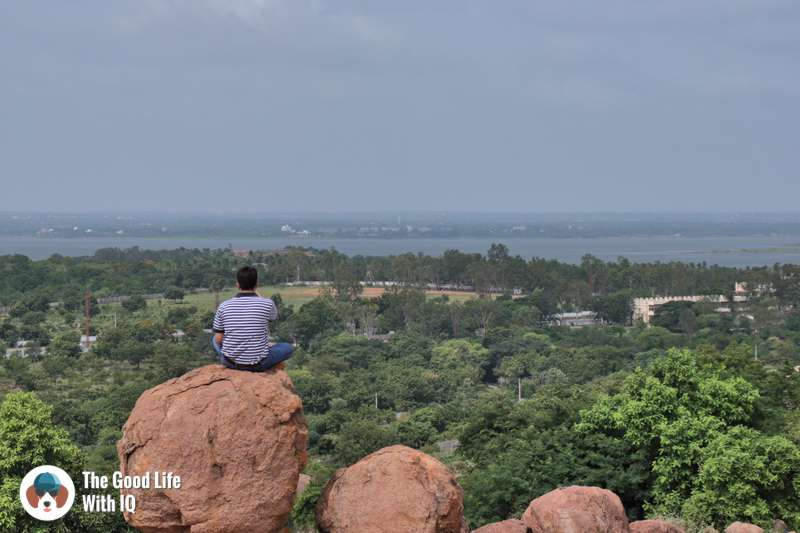 View of Osman Sagar, Hyderabad