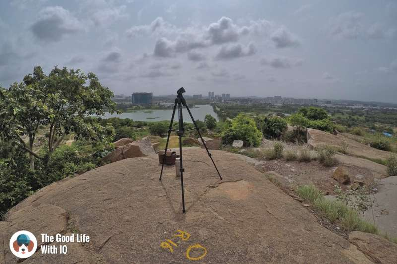 Photo equipment on Khanapur hill, Hyderabad