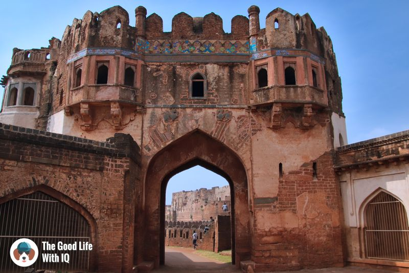 bidar fort  - weekend motorbike ride to bidar