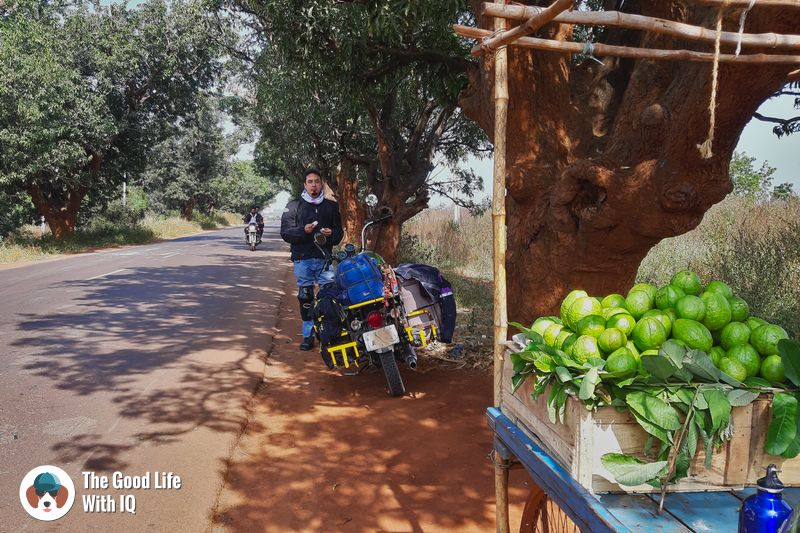 guava break -  - Hyderabad to Bidar road trip
